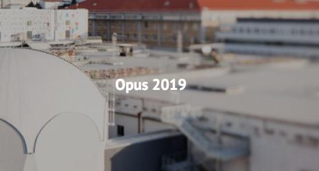 網頁素材 opus 2019